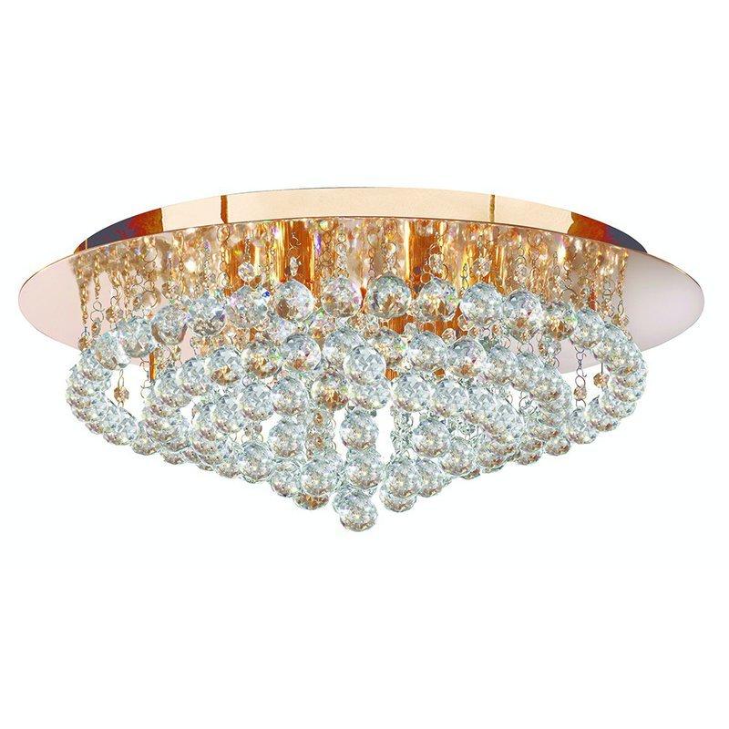 Plafoniera Searchlight Hanna Gold L luxuriante.ro 2021