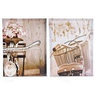 Set tablouri On a bicycle