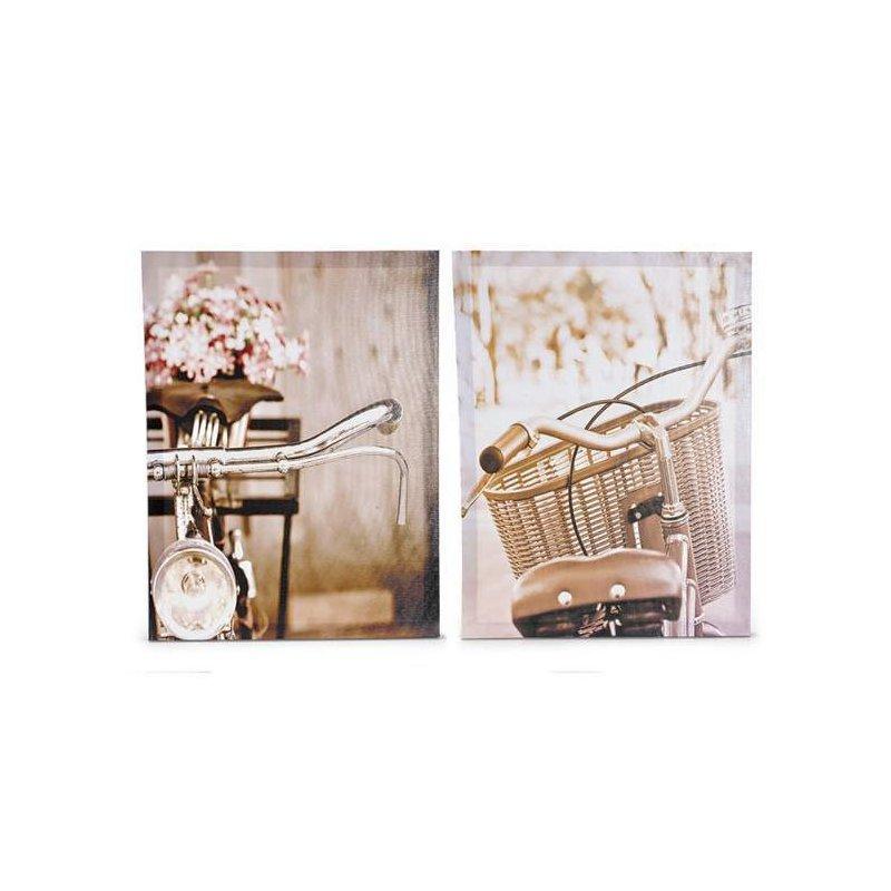 Set tablouri On a bicycle luxuriante.ro 2021
