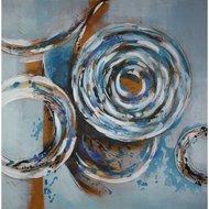 Tablou pictat manual Aquamarine