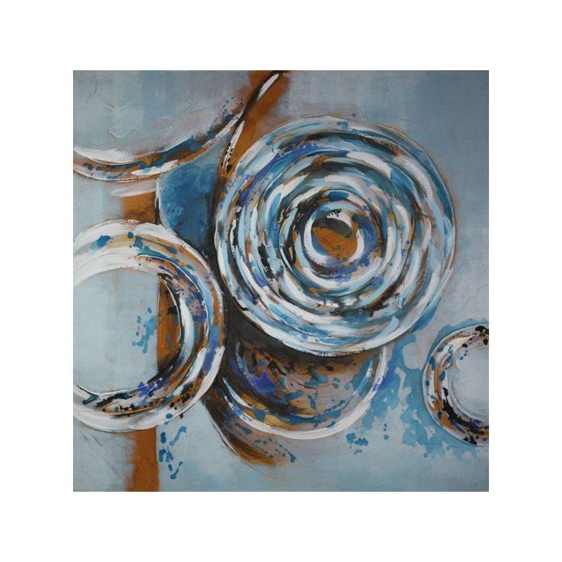 Tablou pictat manual Aquamarine luxuriante.ro 2021