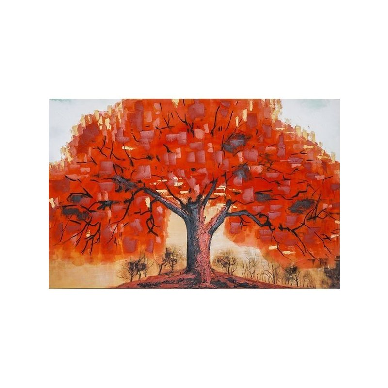 Tablou Pictat Manual Autumn Tree