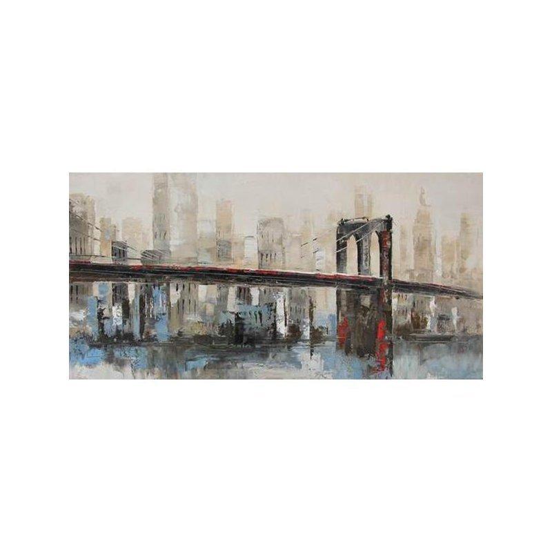 Tablou pictat manual Bridge luxuriante.ro 2021