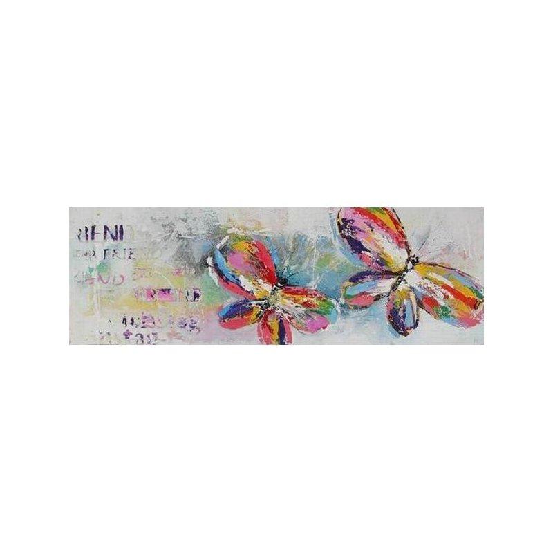 Tablou Pictat Manual Butterflies