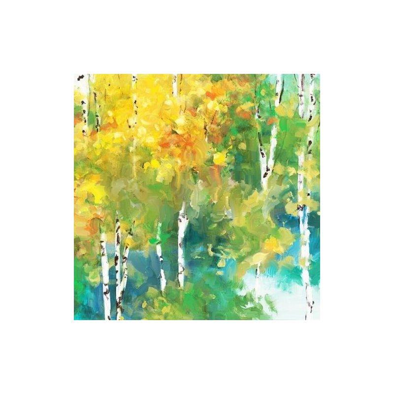Tablou pictat manual Change, 40x40cm luxuriante.ro 2021