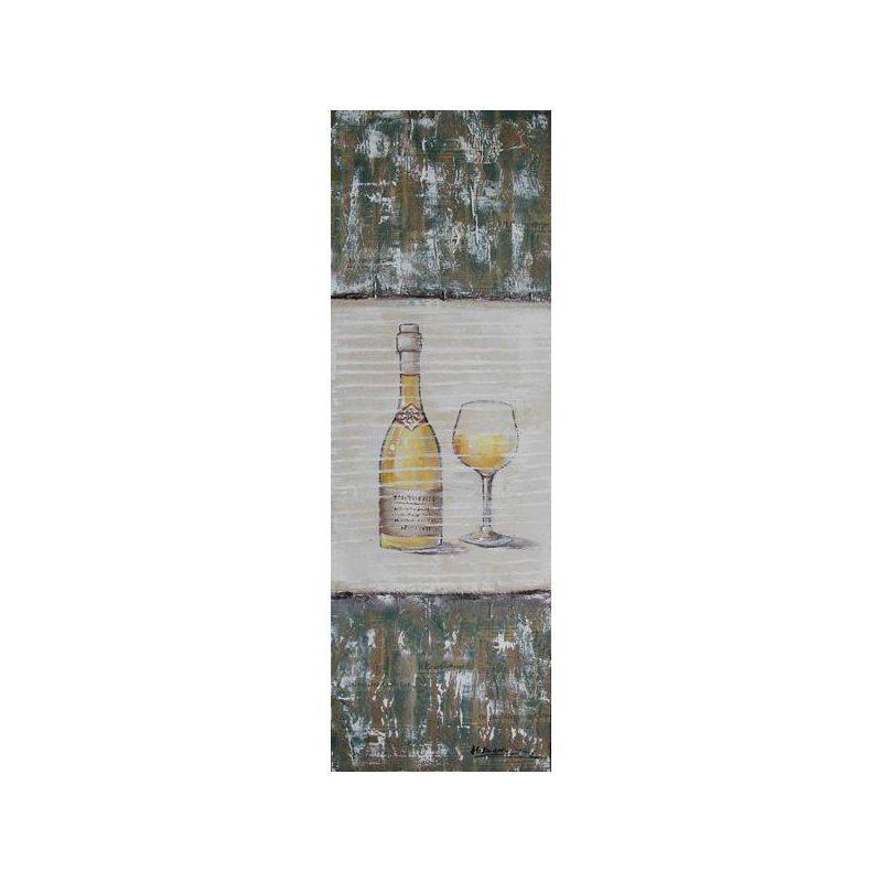 Tablou pictat manual Chardonnay luxuriante.ro 2021