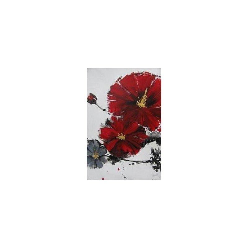 Tablou pictat manual Cherry Blossom A, 70x50cm luxuriante.ro 2021