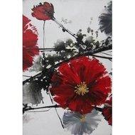 Tablou pictat manual Cherry Blossom B, 70x50cm
