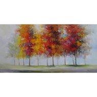 Tablou pictat manual Fall 60x120