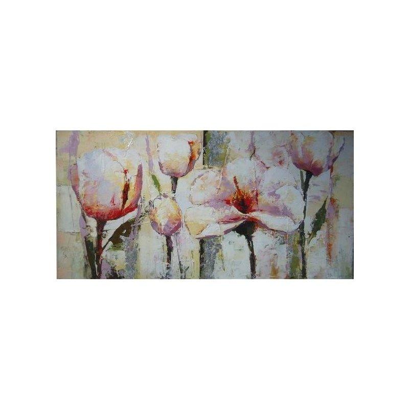 Tablou pictat manual Frezii, 60x120cm luxuriante.ro 2021
