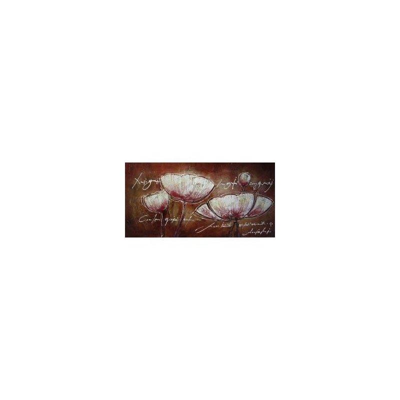Tablou pictat manual Liniste inocenta, 60x120cm luxuriante.ro 2021