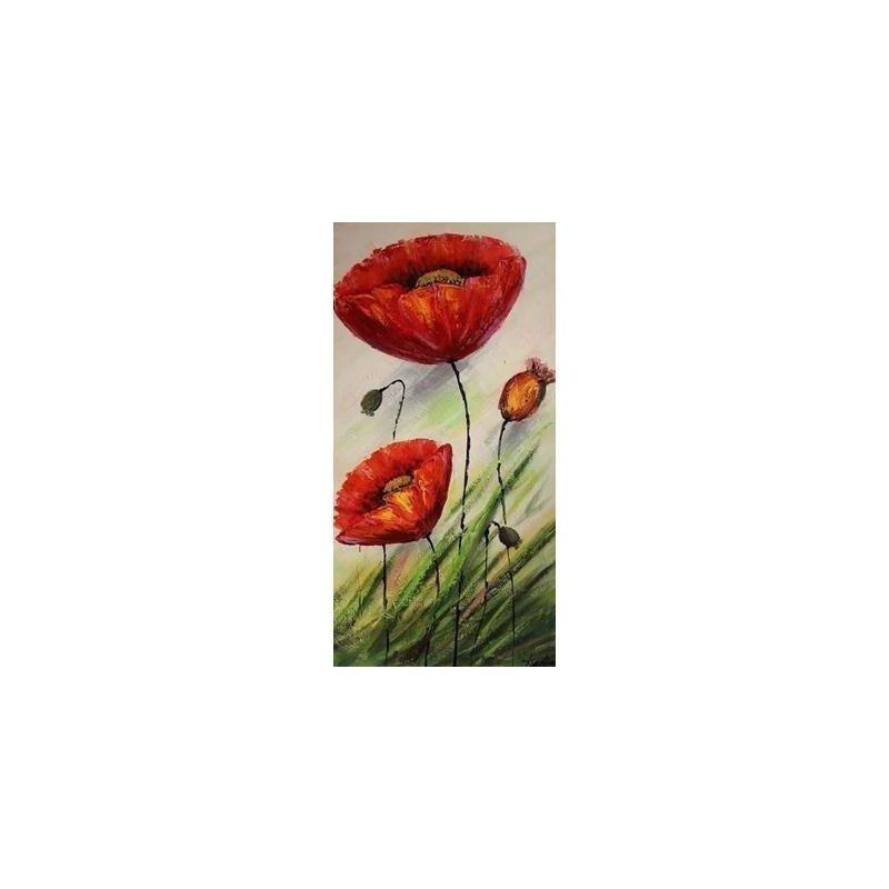 Tablou pictat manual Select, 80X40cm luxuriante.ro 2021