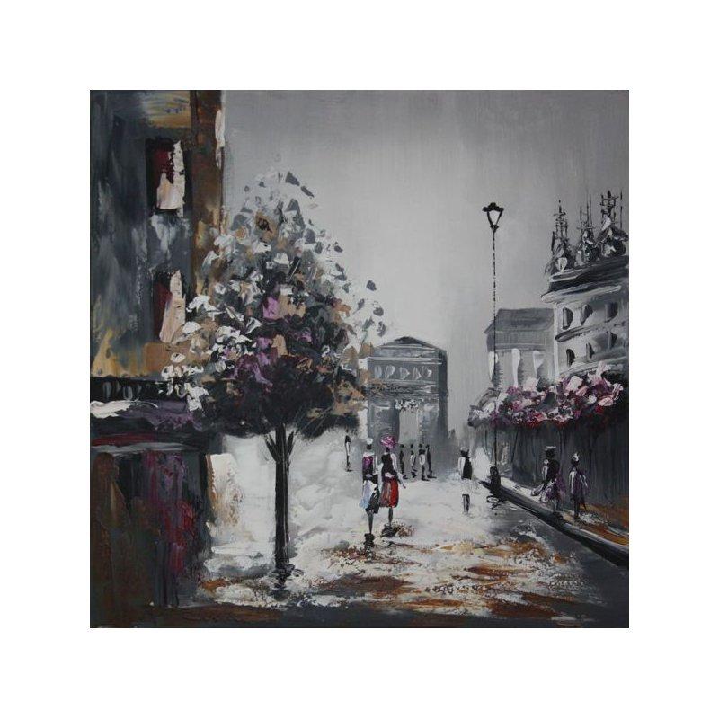 Tablou pictat manual Walk luxuriante.ro 2021
