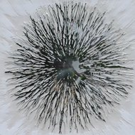 Tablou Sunburst, 80x80cm