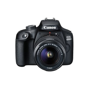 Camera foto Canon EOS 4000D kit EF-S 18-55 DC III