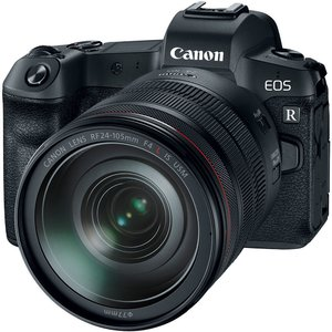 Camera Foto EOS R kit RF 24-105 F/4 L IS USM+ Adaptor RF-EF
