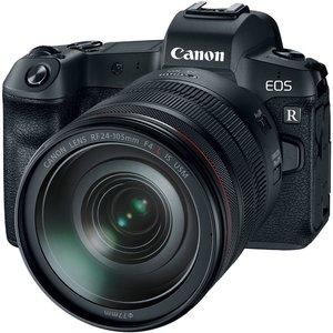 Camera Foto EOS R kit RF 24-105 F/4 L IS USM+ Adaptor RF-EF