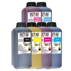 Cerneală STS low solvent, bidon 1L, compatibil HP | Seiko