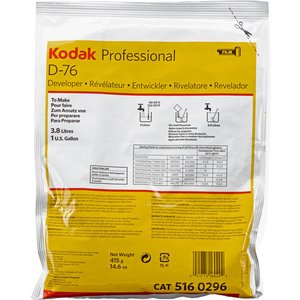 Kodak D-76 revelator pudra film alb-negru