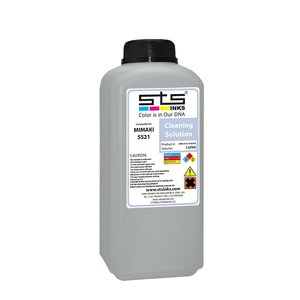 Lichid de curățare STS mild solvent, compatibil Mimaki SS21, bidon 1L