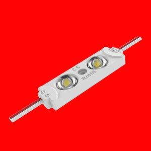 Modul lentilă 2 LED SMD2835 0,72W MacroLight