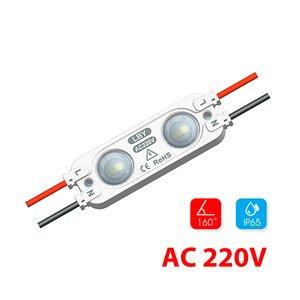 Modul lentilă 2 LED SMD2835 1,2W MacroLight