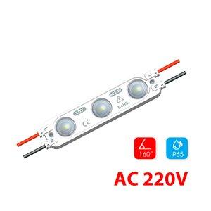 Modul lentilă 3 LED SMD2835 2W MacroLight