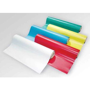 Rola folie magnet isotropic printabila cu PVC alb mat grosime 0.5mm