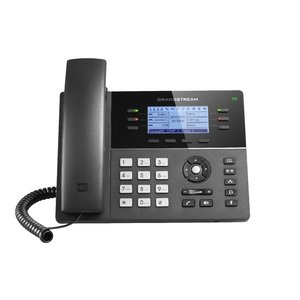 Telefon IP dual band WiFi 6 linii cu ecran LCD Grandstream GXP1760W