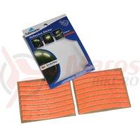 Abtibilde reflectorizante Salzmann 3M pentru jante set 16 portocaliu
