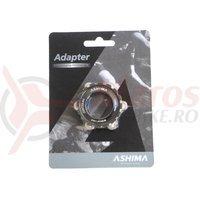 Adaptor frana Ashima AC03XL center lock ultra light negru