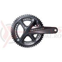 Angrenaj Shimano Ultegra FC-R8000 53x39T 175mm 11v fara butuc pedalier
