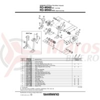 Ansamblu B-Axle Shimano RD-M960