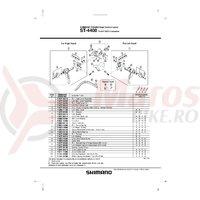 Ansamblu corp maneta Shimano ST-4400 dreapta