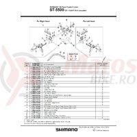 Ansamblu corp maneta Shimano ST-5500-CA stanga