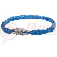 Antifurt cifru 50 cm albastru