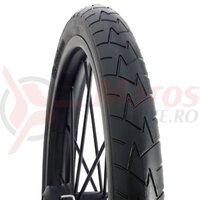 Anvelopa bicicleta Mitas 12-1/2 x 1,75 x 2-1/4 (47-203), V57 Comfort, neagra