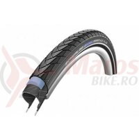 Anvelopa Schwalbe Marathon Plus, Performance Line, Smart Guard, 28x1.40 (37-622) B/B+RT, HS440, negru cu dunga reflectorizanta