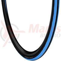 Anvelopa Vredestein 700x23C 23-622 Fiammante negru/albastru pliabila