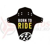 Aparatoare Reverse Born to Ride negru/alb/galben