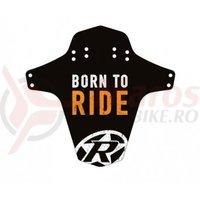 Aparatoare Reverse Born to Ride negru/alb/orange