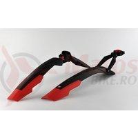 Aparatori Simpla ADHD SDL 27,5'-29' ptr.bicicleta cu suspensie negre/rosu B357