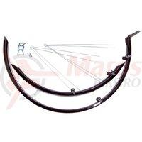 Aripi BikeFun MTB alu-plastic matt black
