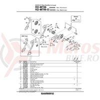 Ax-P & saiba Shimano pentru RD-M786