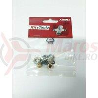 Banjo conector Ashima RT-U1-HEF-BJ pentru franele hidraulice Shimano si Formula, AM