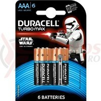 Baterie Duracell AAA/6 Turbo Max alkalina