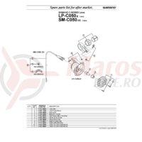 Bec Shimano LP-C050 6v 2.4w