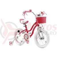 "Bicicleta 14″ RoyalBaby ""STAR GIRL"" ROZ"