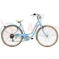 Bicicleta Adriatica Danish 28 6s Lady albastru deschis