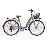 Bicicleta Adriatica Relax 26 6V gri 2018